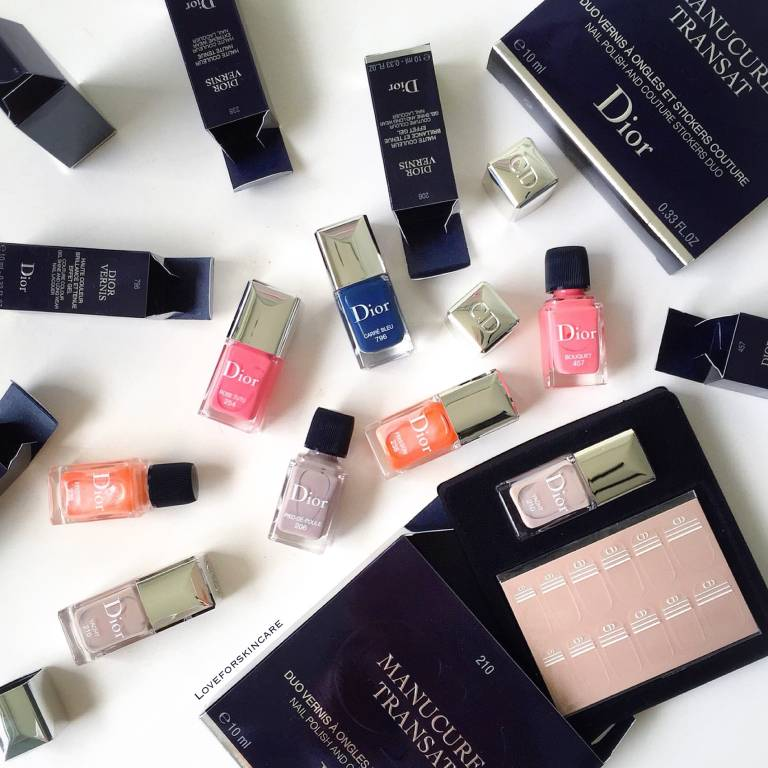 Dior Vernis Limited Editions