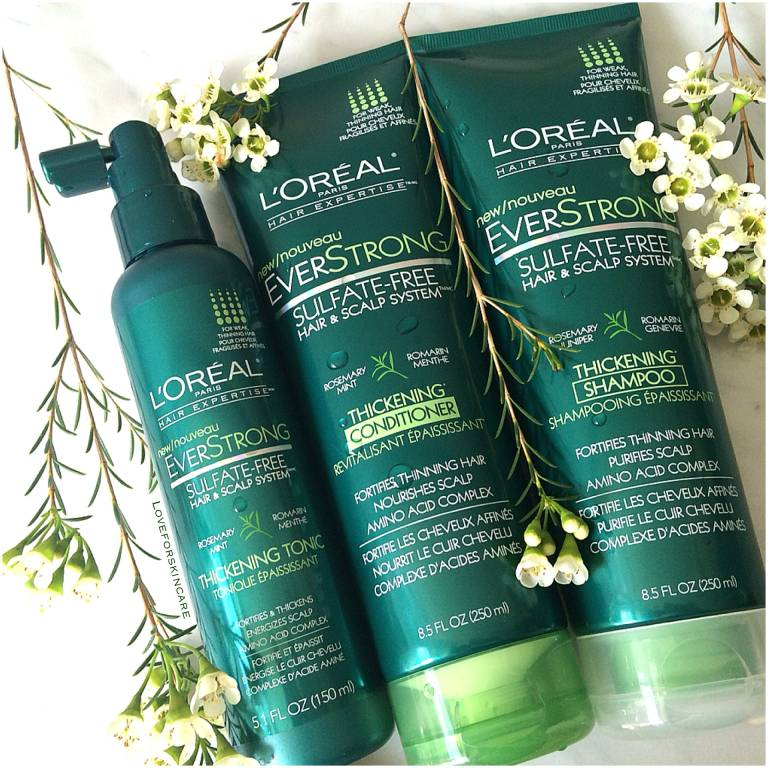 L'Oreal EverStrong Product Range