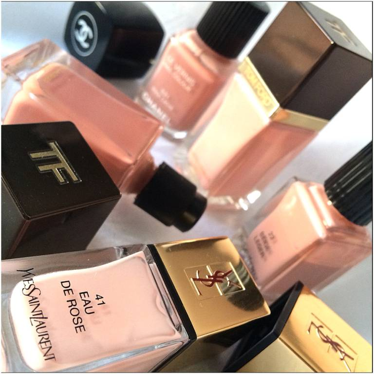 Rose Pink Nail Polishes