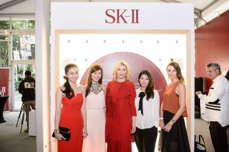 SKII SG Fashion Week 2015 Cate Blanchett