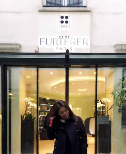 Hair Spa at Rene Furterer Paris