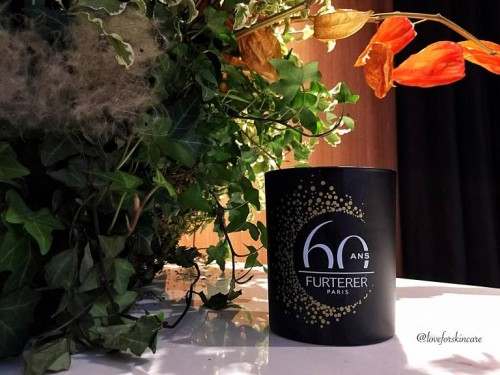Rene Furterer 60th Anniversary Candle