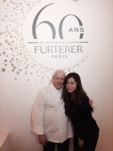 Rene Furterer 60th Anniversary Michelin Chef Thierry Marx